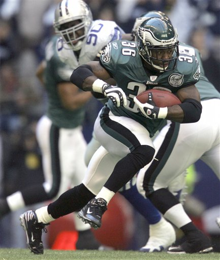 Brian Westbrook vs. Dallas Cowboys