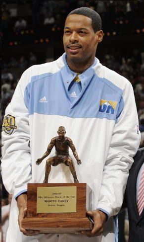 Defensive Player of the Year - Marcus Camby