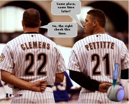 Roger Clemens and Andy Pettitte Intimate Conversation.