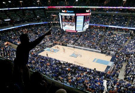 No. 1 Memphis hosts No. 2 Tennessee