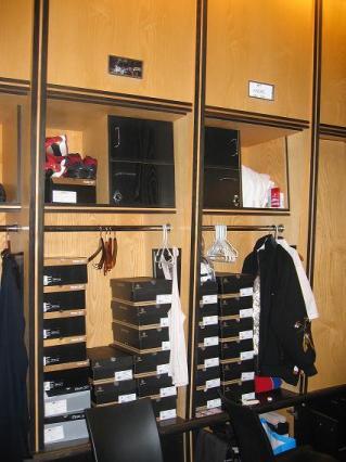 Andre Miller's Lockers