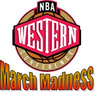 NBA Western Conference March Madness