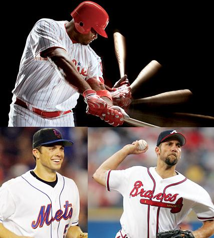 Ryan Howard, David Wright, John Smoltz