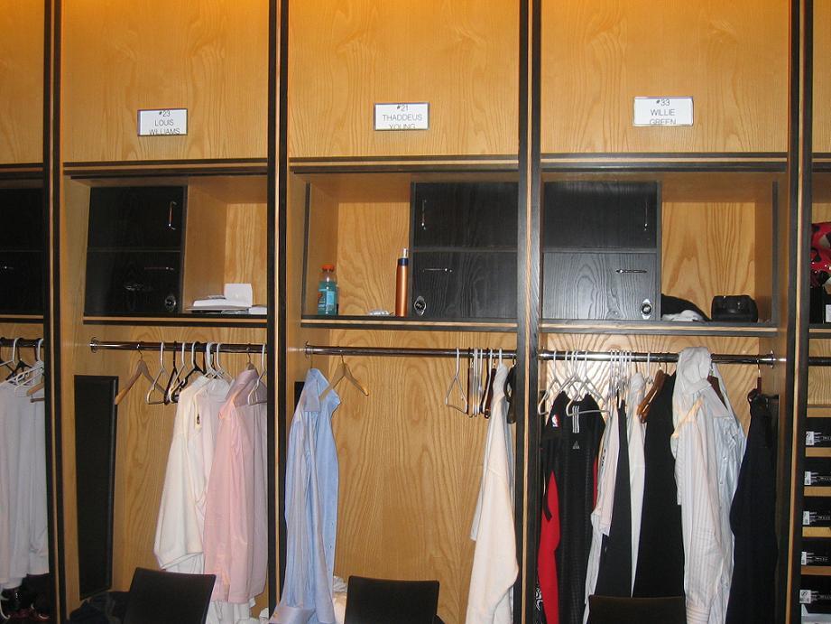Sixers Lockers