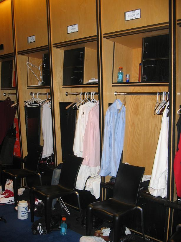 Sixers Lockers